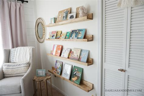Diy Nursery Book Ledge