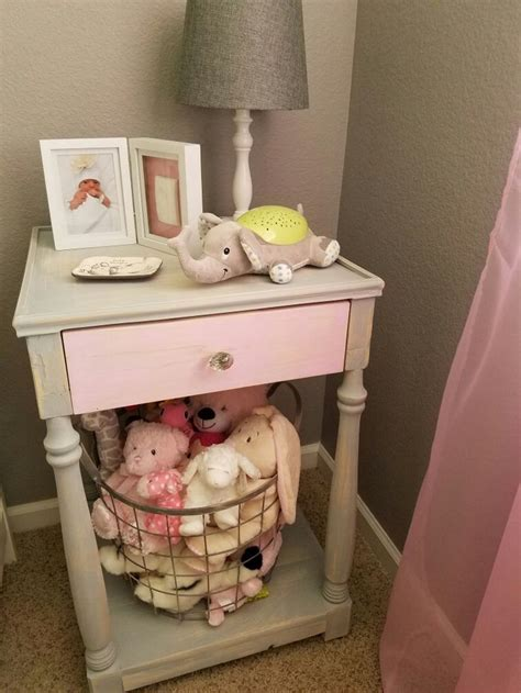 Diy Nursery Nightstand