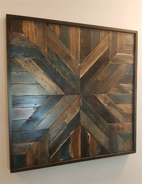 Diy Nursery Wall Art Rustic Wood