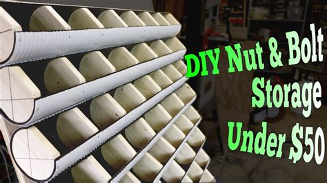 Diy Nut And Bolt Storage
