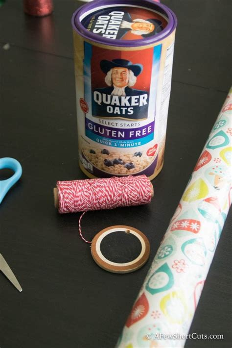 Diy Oatmeal Box Centerpieces