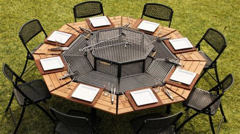 Diy Octagon Grill Table