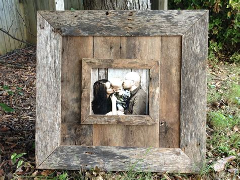Diy Old Barn Wood Picture Frames
