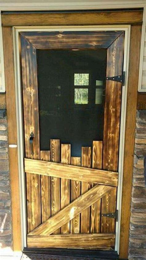 Diy Old Fashioned Wooden Screen Doors