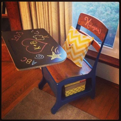 Diy Old School Desks