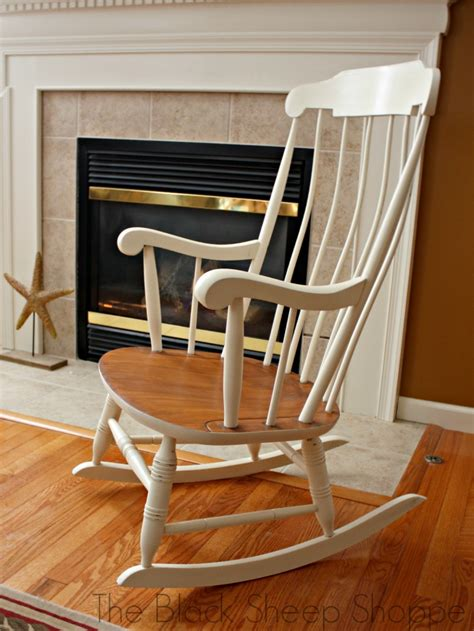 Diy Old Wooden Rocking Chair