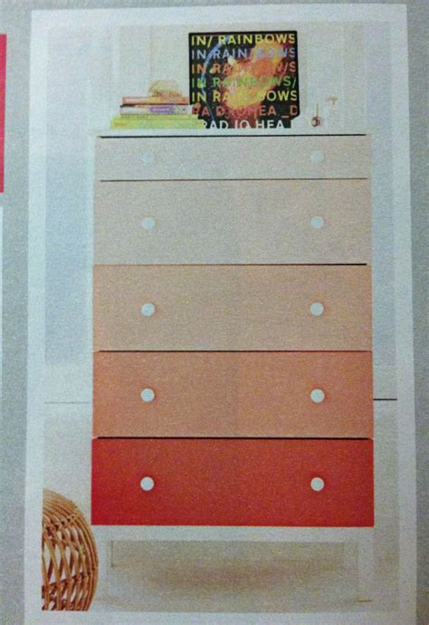 Diy Ombre Dresser Watercolor