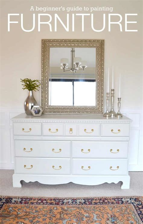 Diy On The Cheap How To Paint Furniture