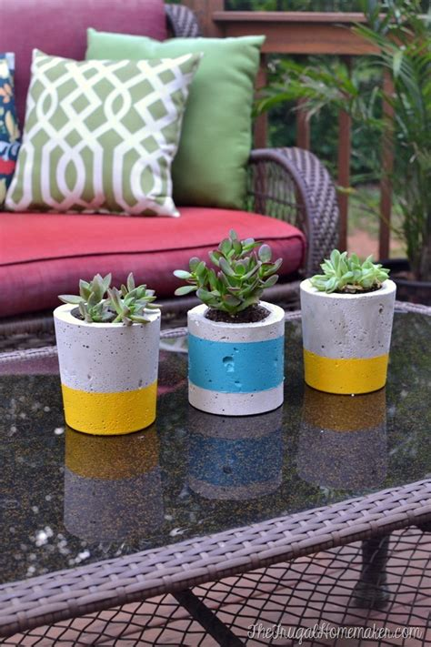 Diy Open Bottom Concrete Planter