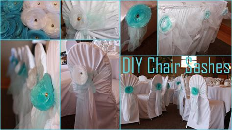 Diy Organza Chair Sashes