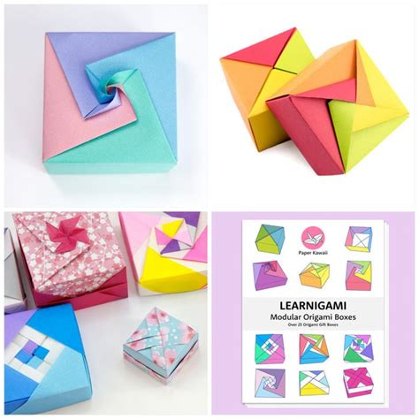 Diy Origami Box Instructions