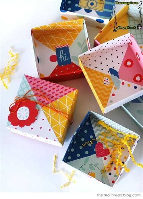 Diy Origami Box Pinterest