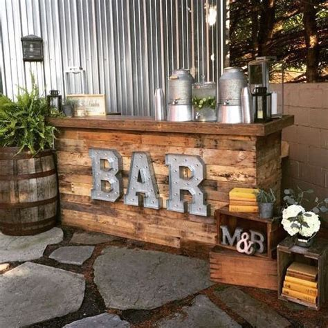 Diy Outdoor Bar Set