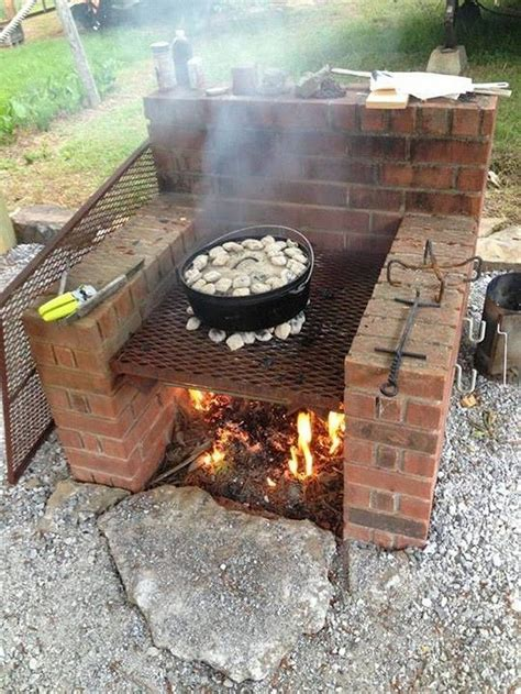 Diy Outdoor Barbeque