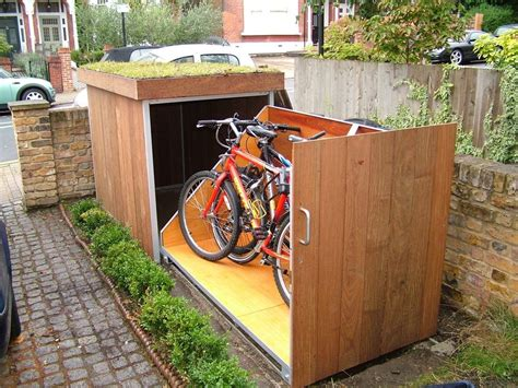 Diy Outdoor Bicycle Storage