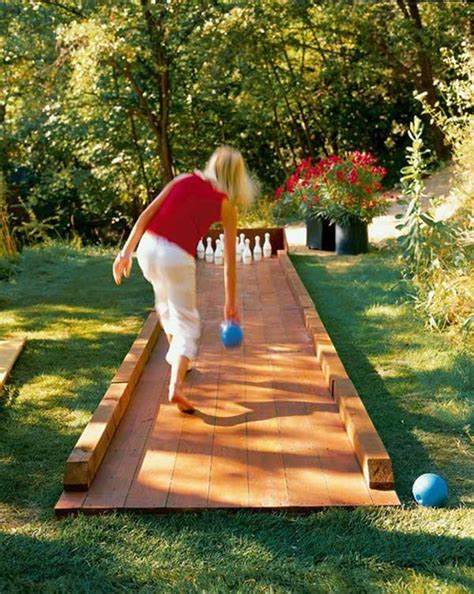 Diy Outdoor Bowling Alley Plans