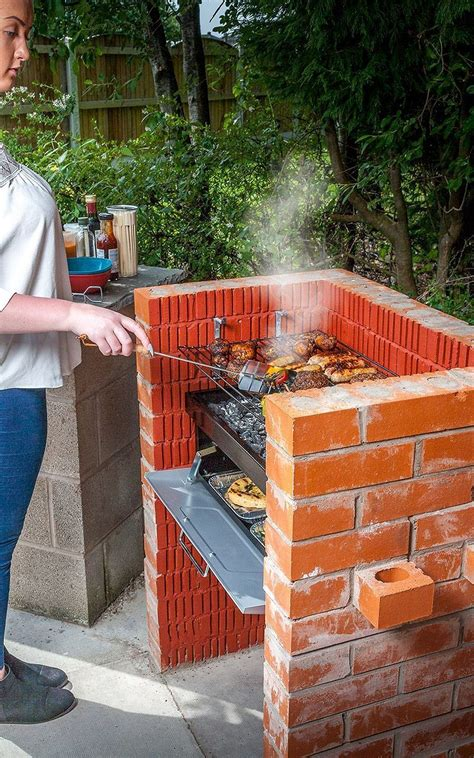 Diy Outdoor Brick Smoker
