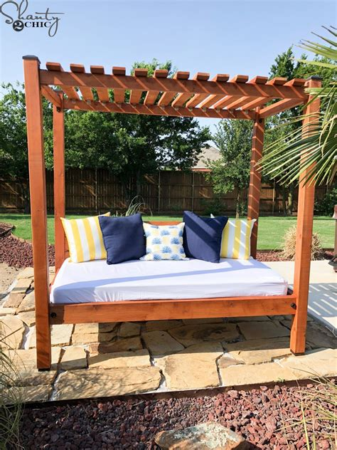Diy Outdoor Cabana Bed