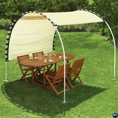 Diy Outdoor Canopy Pvc