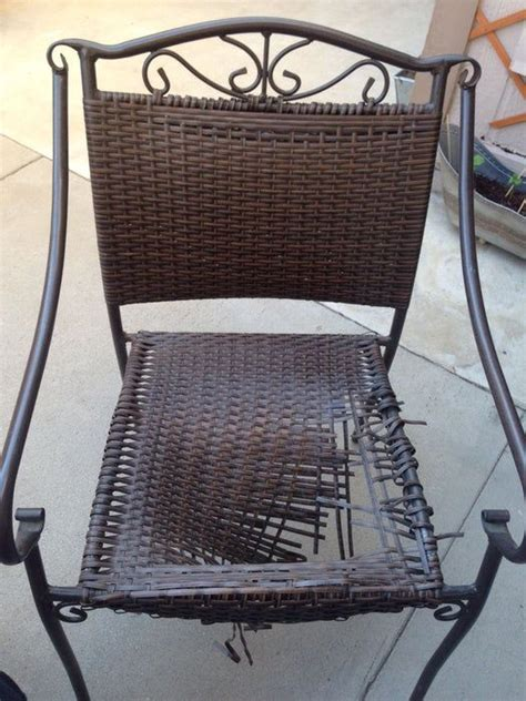 Diy Outdoor Chair Seat Replacement