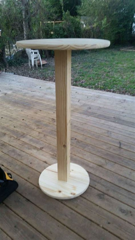Diy Outdoor Cocktail Table