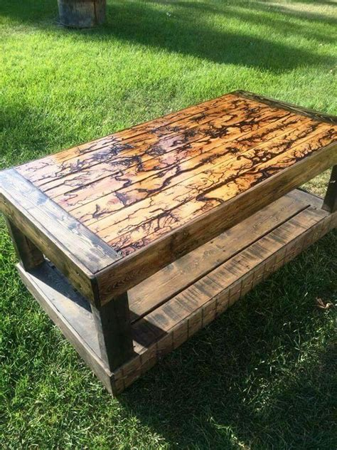 Diy Outdoor Coffee Table Pallet Furniture