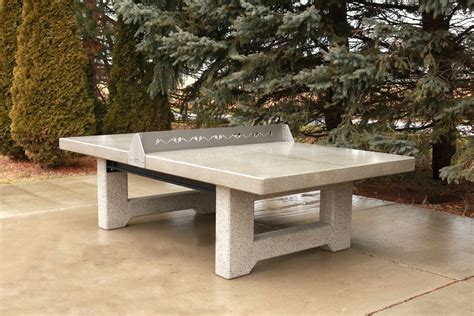 Diy Outdoor Concrete Ping Pong Table