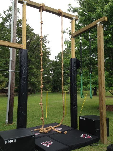 Diy Outdoor Crossfit Gym