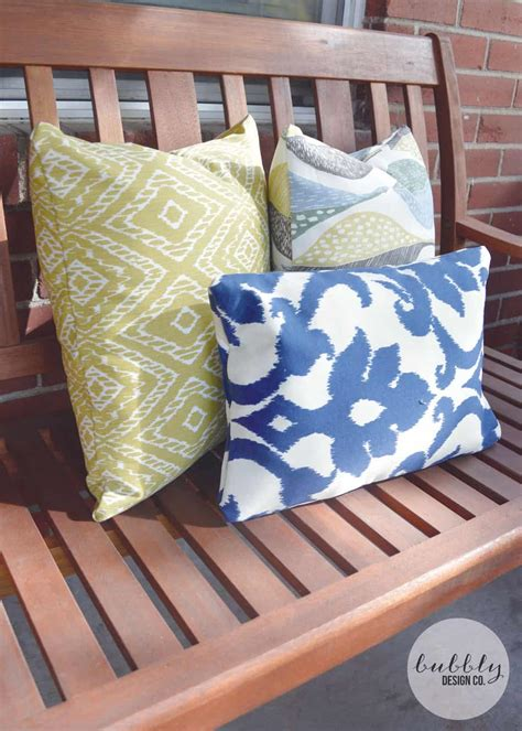 Diy Outdoor Cushions Pinterest