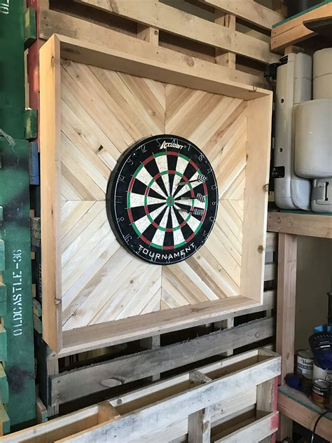Diy Outdoor Dartboard Cabinet