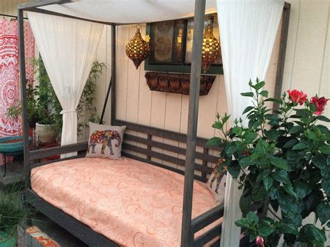Diy Outdoor Daybed With Canopy Plans