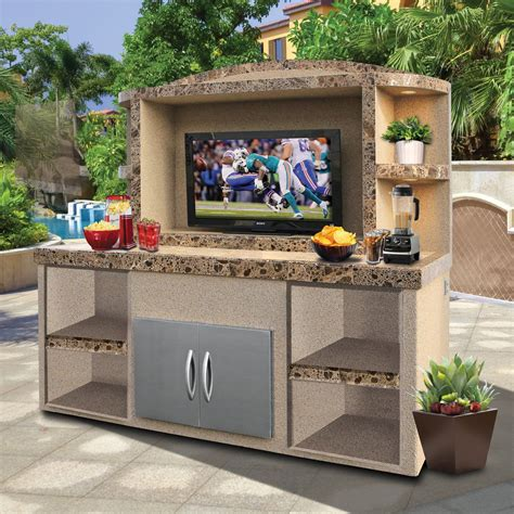 Diy Outdoor Deck Entertainment Center