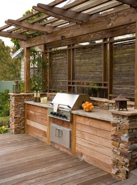 Diy Outdoor Deck Kitchen Ideas
