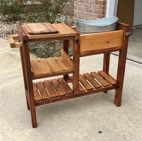 Diy Outdoor Drink Cart