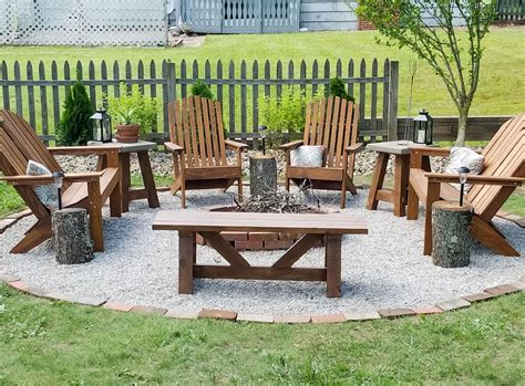 Diy Outdoor Fire Pit Area