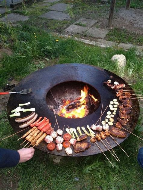 Diy Outdoor Fire Pit Grill