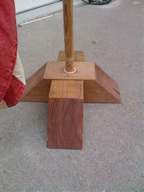 Diy Outdoor Flag Stand Base