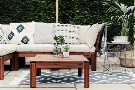 Diy Outdoor Furniture Using Ikea Cushions