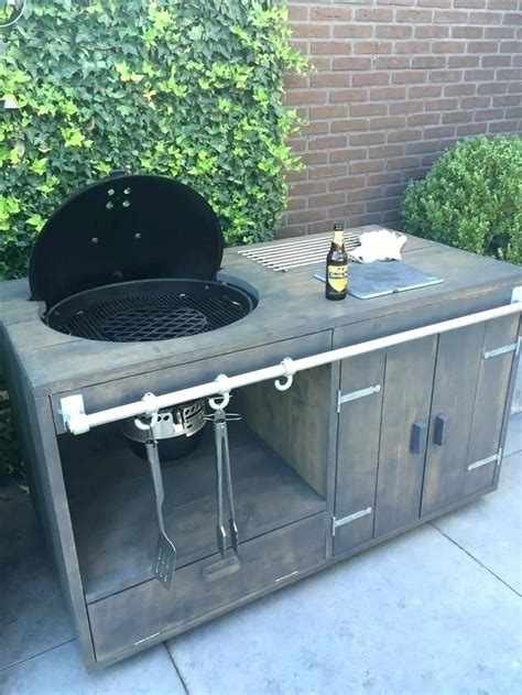 Diy Outdoor Grill Fridge