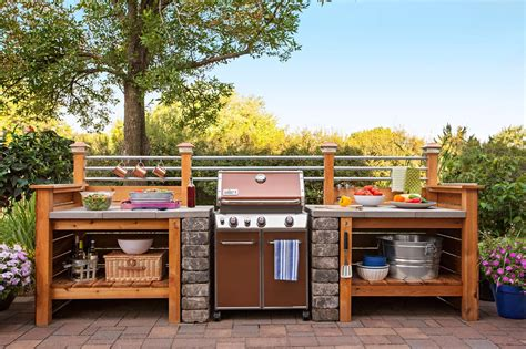 Diy Outdoor Grill Kitchen