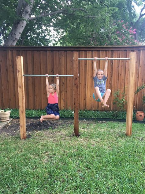 Diy Outdoor Gym Youtube