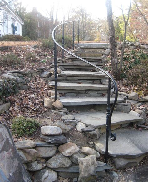 Diy Outdoor Handrail Installation