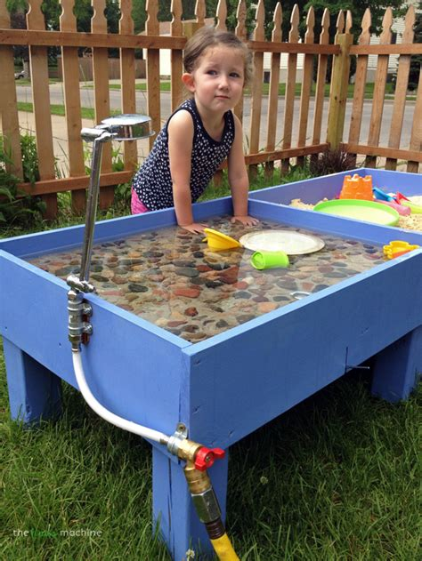 Diy Outdoor Kids Water Table