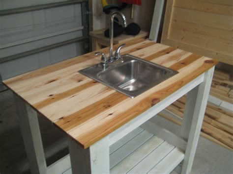 Diy Outdoor Kitchen Sink