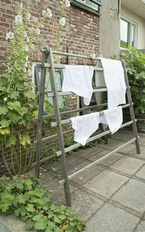 Diy Outdoor Laundry Drying Rack