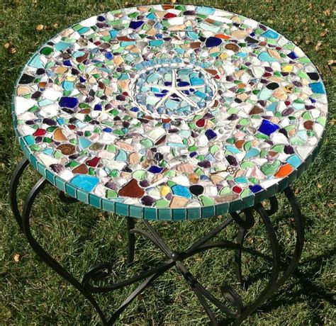 Diy Outdoor Mosaic Tile Table