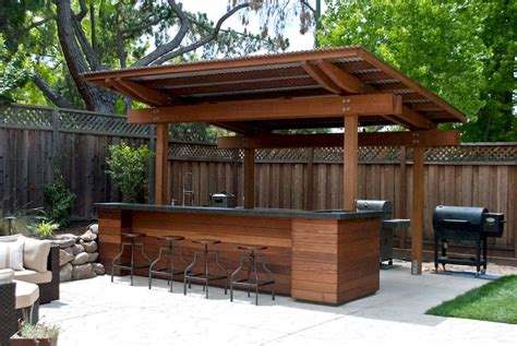Diy Outdoor Patio Bar Plans