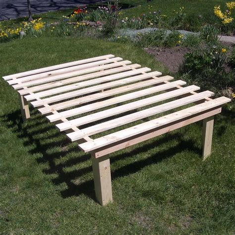 Diy Outdoor Platform Bed