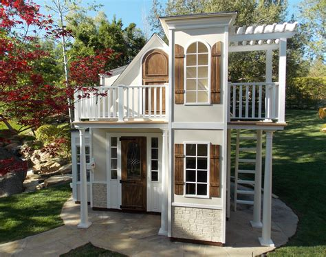 Diy Outdoor Playhouse Two Story