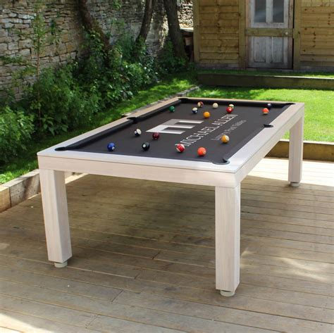 Diy Outdoor Pool Table